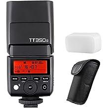 Godox Mini TTL GN36 Hss 1/8000s 2.4GHz Flash Godox TT350 Flash Speedlite (Godox TT350S Camera Flash Speedlite)