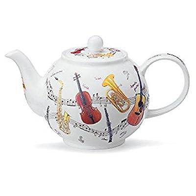 Dunoon Théière Instrumental Petite en porcelaine anglaise