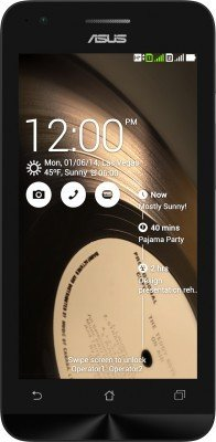 Asus Zenfone C (Black, 8GB)  available at amazon for Rs.4499