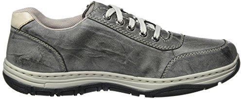 Rieker Herren 16300 Sneaker Grau (Graphit/Ice)