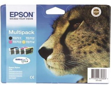 Original Tinte f.EPSON Stylus D78, DURABrite Ultra Multipack