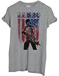 T-Shirt Rambo Usa - Film By Mush Dress Your Style