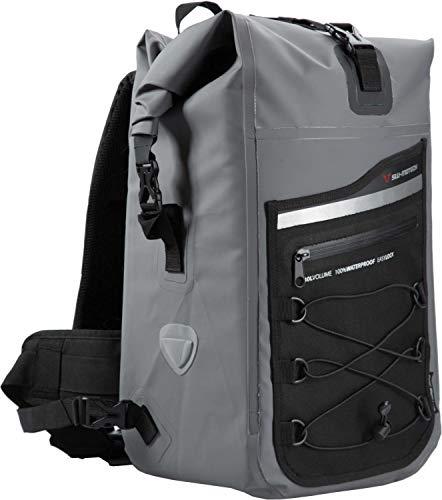 Motorrad-Rucksack Drybag 300,. 30 Liter, grau/schwarz, wasserdicht