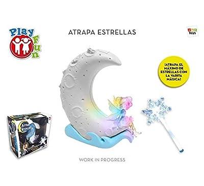 IMC Toys S.A. Juego Atrapa Estrellas ¡Atrapa El Mayor Numero de Estrellas con la Varita! de Imc Toys, S.A.