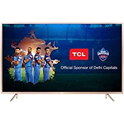 TCL 138.71 cm (55 Inches) 4K UHD LED Smart Certified Android TV L55P2MUS (Gold)
