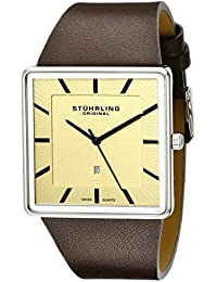 Stuhrling Original Classic Analog Champagne Dial Men's Watch - 342.3315K15