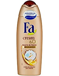Fa - Gel Douche - Cream & Oil - Beurre de Cacao & Huile de Coco - Flacon 250 ml - Lot de 6