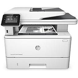 HP LaserJet Pro M426fdw Imprimante Multifonction Laser Noir/Blanc (38 ppm, 1200 x 1200 ppp, Wifi, Ethernet, USB, Fax, NFC)