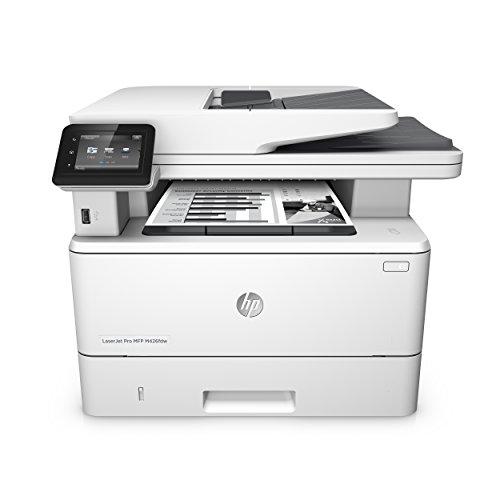 HP LaserJet Pro M426fdw Laserdrucker Multifunktionsgerät (Drucker, Scanner, Kopierer, Fax, WLAN, LAN, Duplex, HP ePrint, Airprint, NFC, USB, 4800 x 600 dpi) weiß - Hp Laser-farb-drucker Duplex
