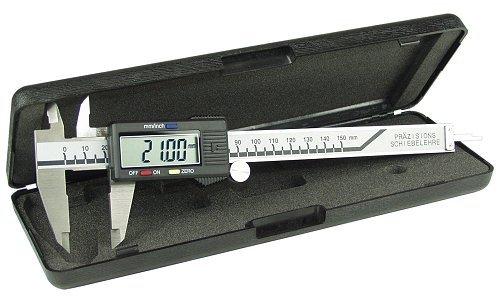 fix-point Schieblehre, digital mit LCD-Display 150mm