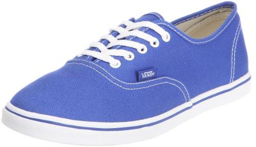 Vans Authentic Lo Pro VQES6MC Unisex - Erwachsene Klassische Sneakers Blau (dazzling blue/true white)