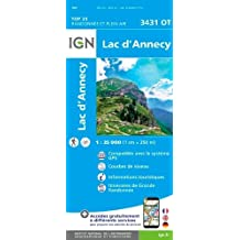 Lac d'Annecy 1:25 000