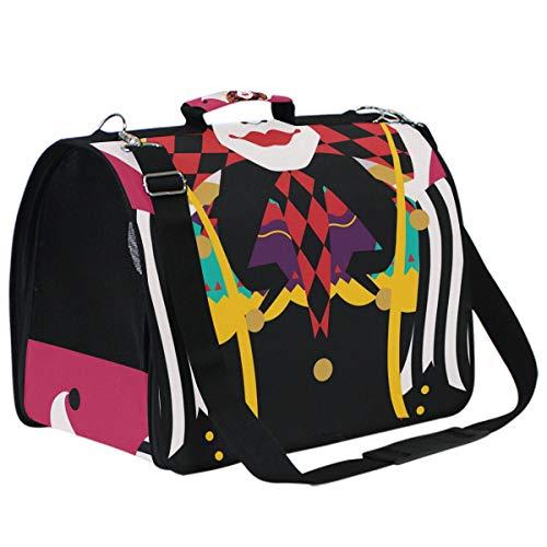 Der Joker Pet Kostüme - Aminka Kostüm Joker rot Haustier-Transporttasche für