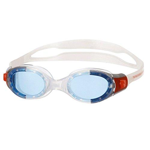 Liutao Schwimmbrillen Kinder Schwimmbrille, Jugend wasserdicht und Anti-Fog HD Schwimmbrille, 6-14 Jahre alt Durable schwimmbrillen (Color : Lake Blue)