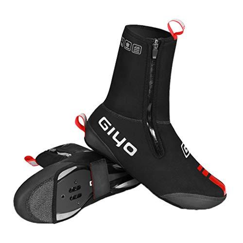 TuHao88 Shoes Covers Überschuhe Draussen Reflektierend Radfahren Schuhe Abdecken wasserdichte Fahrrad Fahrradüber Schuhe Cover S-XL (Verdicken, EU 40-42) -