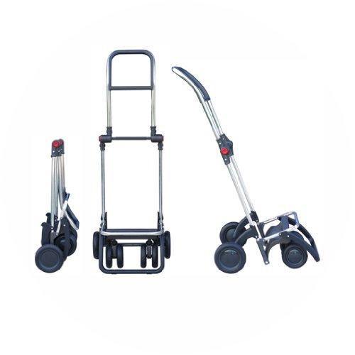 ROLSER Einkaufsroller Logic Tour / ECOMAKU, MAK003, 39,5 x 32,5 x 106 cm, 52 Liter, 40 kg Tragkraft mandarina