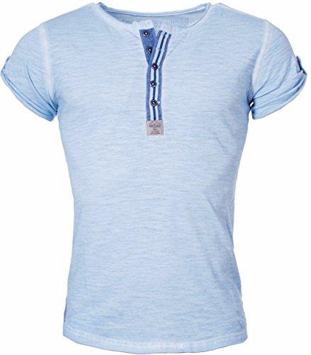 Key Largo -  T-shirt - Basic - Maniche corte  - Uomo Light Blue