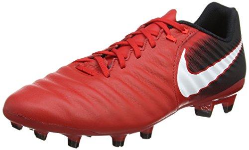 Fg Rosso Nero Calcio Da Uomo Nike Rosso Ligera università Brillante Porpora 616 Bianco Tiempo Scarpe Iv PqqTtw8