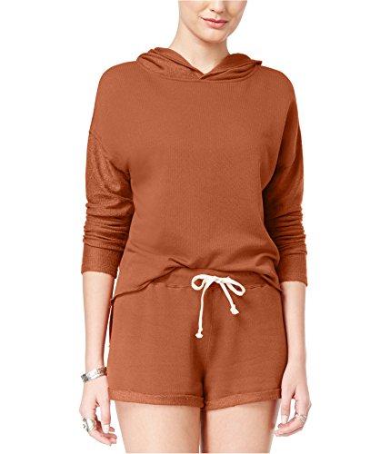 American Rag Womens Frayed Hoodie Sweatshirt -