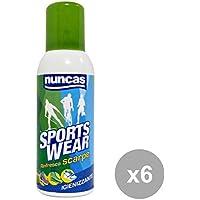 NUNCAS Set 6Schuhe Hygiene Spray Deodorant Werkzeug Reinigung preisvergleich bei billige-tabletten.eu