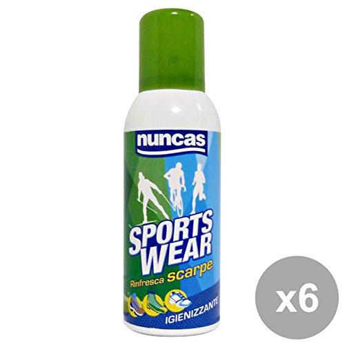 Nuncas NUNCAS Set 6Schuhe Hygiene Spray Deodorant Werkzeug Reinigung