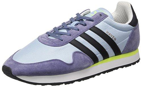 adidas Herren Haven Trainer Low Mehrfarbig (Easy Blue/core Black/solar Yellow)