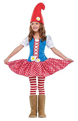 Mädchen Jungen Gnome Kleinkind Fancy Dress Party World Book Day Kids Kostüm 2–4Jahre
