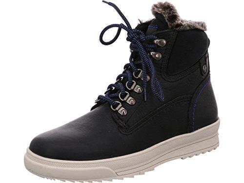 Panama Jack Herrenschuh Tinker C5 Modische Herren Stiefel, Schnürstiefel, Boots, Stiefelette, herausnehmbare Einlegesohle Schwarz (Black), EU 44