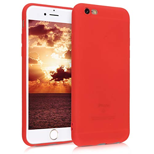 kwmobile Apple iPhone 6 / 6S Hülle - Handyhülle für Apple iPhone 6 / 6S - Handy Case in Neon Rot