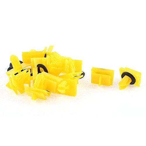 15-pcs-jaune-plastique-clip-de-garde-boue-defenseur-coupe-bise-tapis-pour-buick