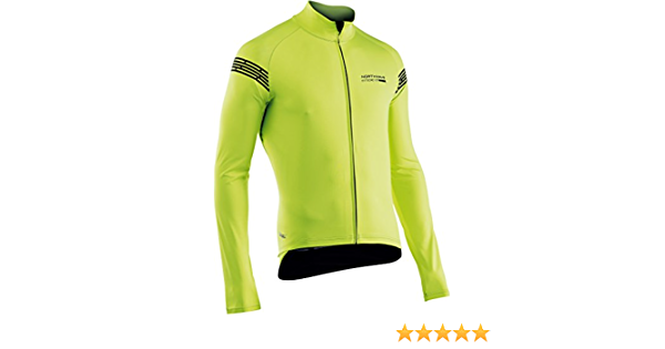 Northwave Extreme H2O Light TP Fahrrad Regen//Windjacke kurz gelb//schwarz 2020