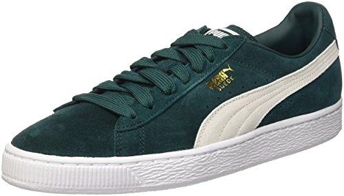 Puma Classic, Sneakers Basses femme Ponderosa Pine/Bianco