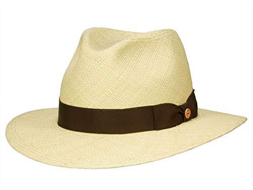 Mayser Brown Menton Panamahut Sonnenhut UV-Schutz (59 cm - natur)