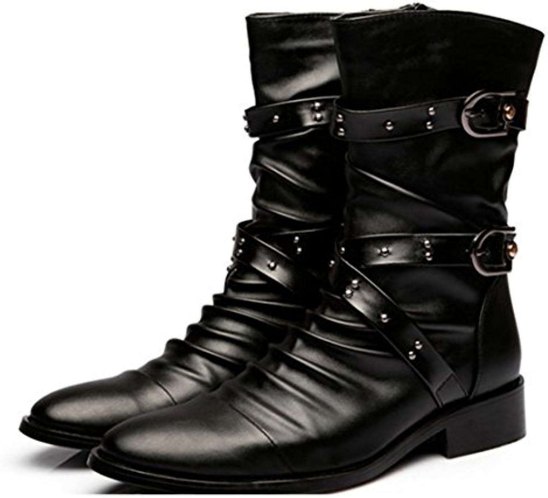 Generic   Herren Stiefel schwarz schwarz
