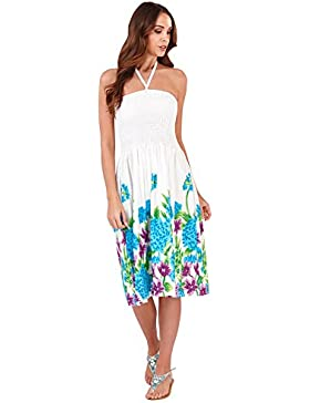 Vestido Veraniego de Dama 2 en 1 de algodón Pistachio