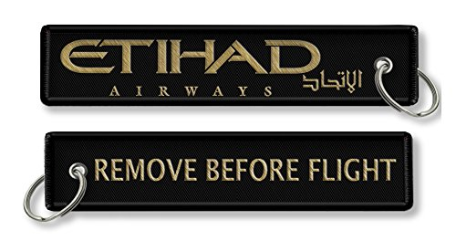 remove-before-flight-etihad-airways-x1-con-anello-portachiavi