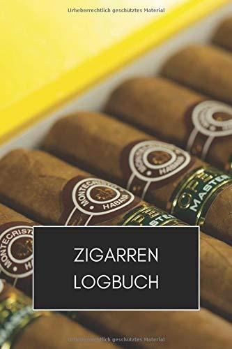 Preisvergleich Produktbild Zigarren Logbuch: 6x9 Zigarren Buch,  Tagebuch oder Journal zur Dokumentation und Bewertung I Für Zigarrenliebhaber,  Genussraucher I Zigarren Tasting
