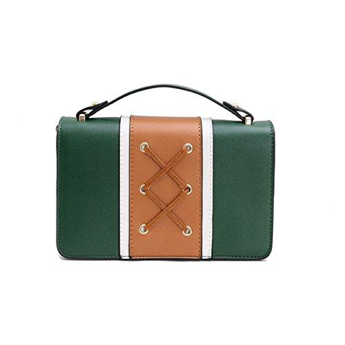 Dame Mini Chain Bag Wild Shoelace Handtasche Umhängetasche Einfache Messenger Bag B