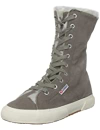 Superga 2040-SUEBW - Zapatillas altas, color: Beige
