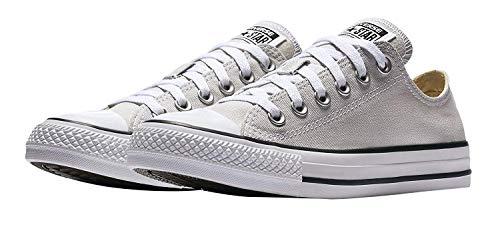 Converse Unisex Erwachsene Chuck Taylor All Star Canvas Sneaker, Schwarz - Pale Putty - Größe: Men's 10.5, Women's 12.5 Medium (Schwarze Pumpe Erwachsene Schuhe)
