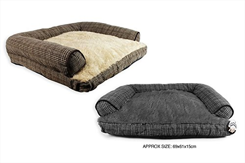Sweet Dreams Pet Sofa Dog Large Bed Comfy Soft Anti Slip Tweed Quality Durable 1