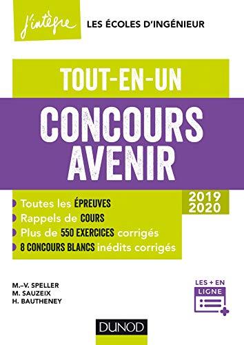 Concours Avenir - Tout-en-un 2019-2020 par Marie-Virginie Speller, Michaël Sauzeix, Hélène Bautheney