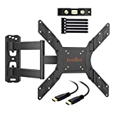 Perlegear PGMFK1-E Support Murale TV Orientable Et Inclinable Support TV , A Écran...