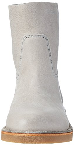 Shabbies Amsterdam Shabbies Halbschaft Schlupfstiefel, Bottines à enfiler femme Gris clair
