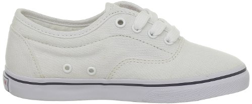 US Polo Assn Drogo, Baskets mode mixte enfant Blanc (White)