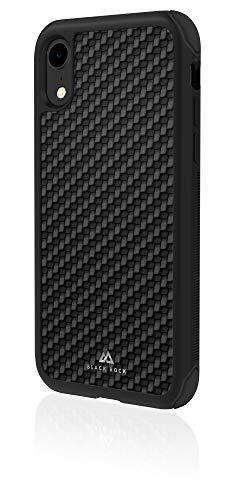 Black Rock Robust Case Real Carbon Hülle für Apple iPhone XR