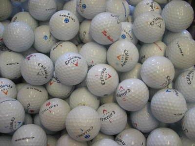 Callaway 50 balles de golf Lake Balls Catégorie AAA/AA