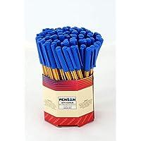 Pensan PE01010TKMA Ofispen Tükenmez Kalem, 1 mm, 60 Adet, Mavi