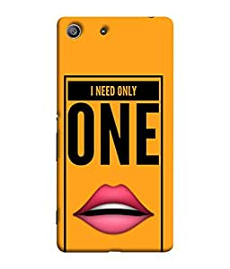 PrintVisa Designer Back Case Cover for Sony Xperia Z3 Compact :: Sony Xperia Z3 Mini (Glossy Lips Love Affection Kiss )