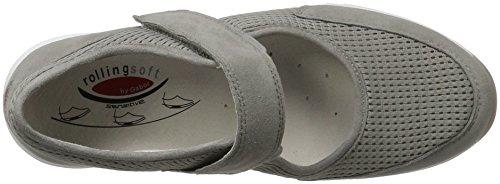 Gabor Shoes Rollingsoft, Scarpe da Ginnastica Basse Donna Grigio (grau 39)